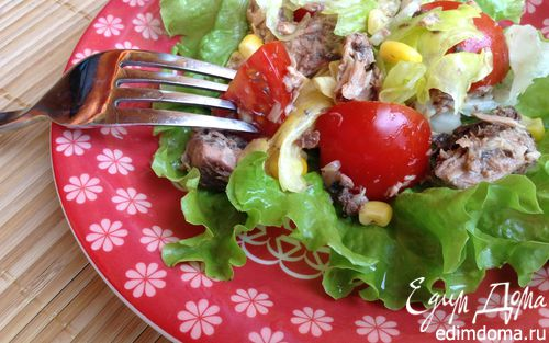 Рецепт Испанский салат с тунцом