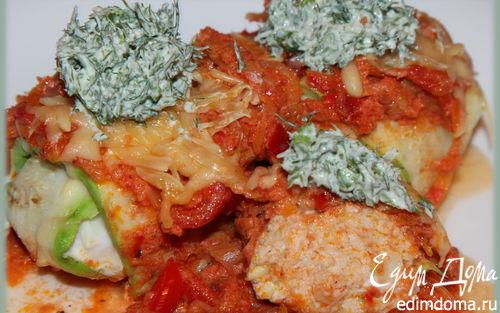Рецепт Мясные клубочки в томатном соусе
