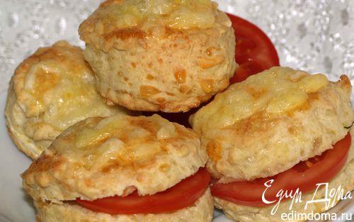 Рецепт Английские сырные сконы (Scone)