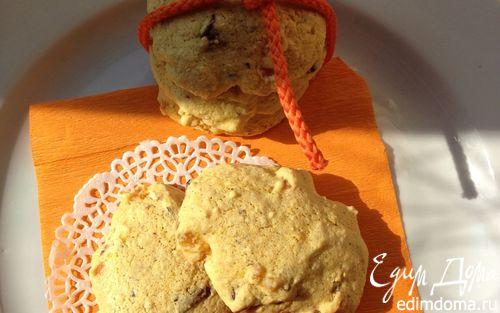 Рецепт Быстрое бисквитное печенье на киселе