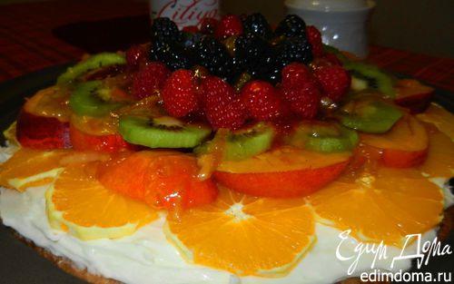 Рецепт Фруктовая пицца (Fruit Pizza)