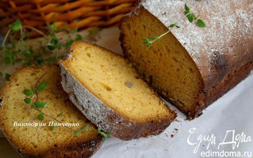 Рецепт Медовый кекс с лаймом и тимьяном