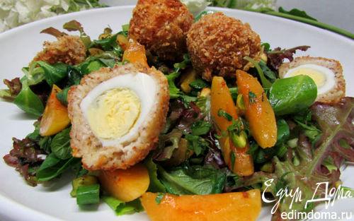 Рецепт Летний салат с абрикосами