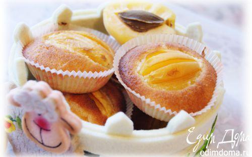 Рецепт Абрикосовые кексы на рисовой муке