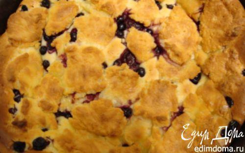 Рецепт Ягодный пирог под творожными клецками