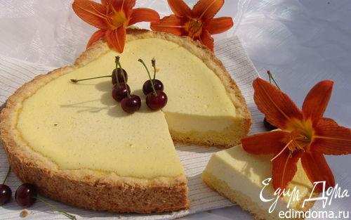 Рецепт Сметанный ванильный чизкейк для Вики (Победа)