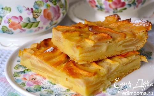������ � ����������� �������� ����� (Gâteau invisible aux pommes)