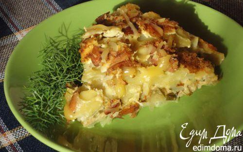 Рецепт Картофельный пирог от Юлии Высоцкой