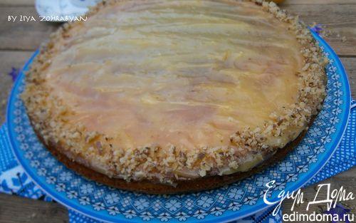 Рецепт Кабачково-морковный пирог с лимонным кремом