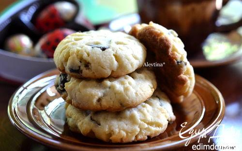 Рецепт Сливовое печенье