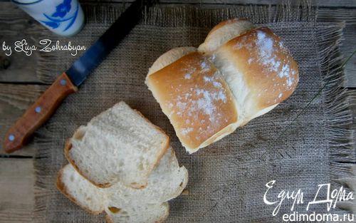 Рецепт Белый хлеб на молоке