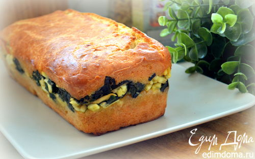 Рецепт Мой любимый пирог с луком и яйцами (заливной)