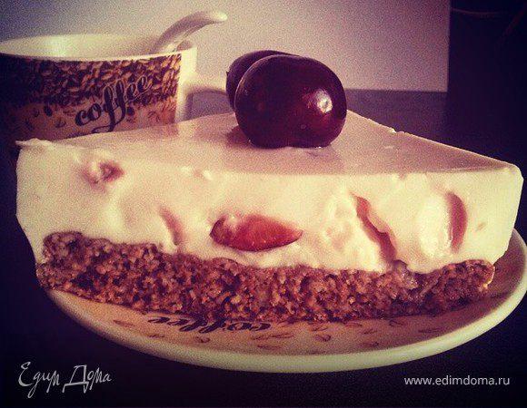 Пирог с творожным суфле