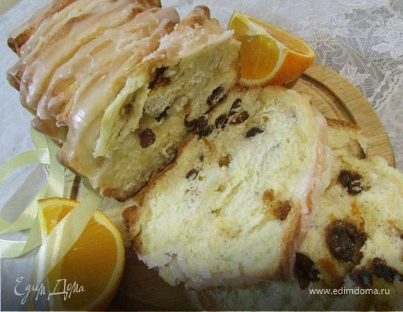 Апельсиновый хлеб (Orangenbrot backen)