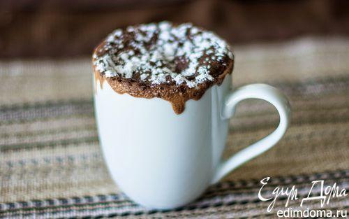 Рецепт Шоколадный кекс в кружке