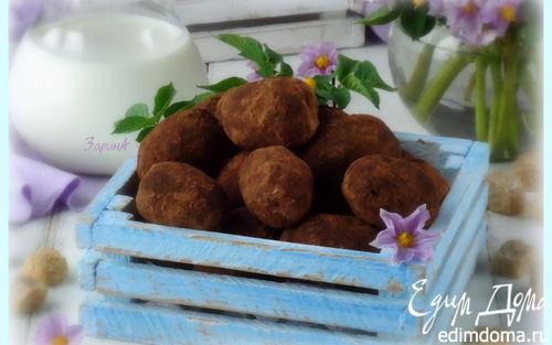 """Рецепт Пирожное """"Картошка"""" (шоколадная)"""