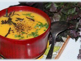 Яблочно-морковный суп-пюре