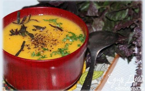 Рецепт Яблочно-морковный суп-пюре