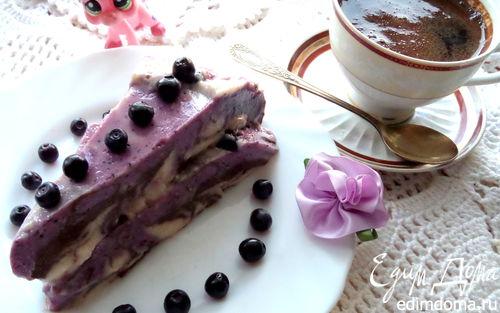 Рецепт Разноцветное молочно-ягодное желе