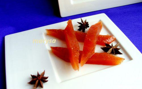 Рецепт Яблочный мармелад с апельсином и корицей