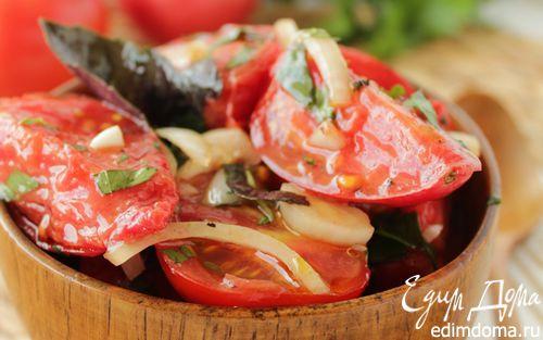 Рецепт Маринованные помидоры быстрого приготовления