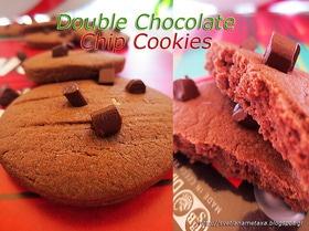 Двойное шоколадное печенье (Double Chocolate Chip Cookies)