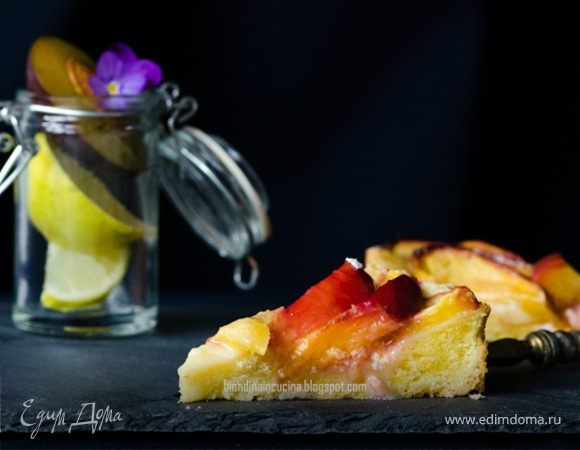 Деревенский фруктовый пирог