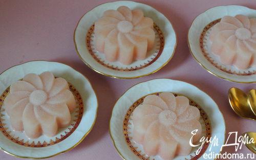 Рецепт Сорбет из грейпфрута с зефиром