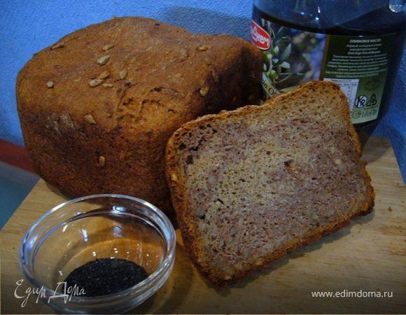 Ореховый хлеб с семечками