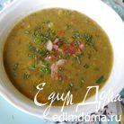 Суп из чечевицы с имбирем и шалфеем