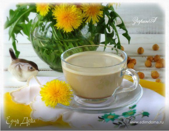 Кофе-десерт с халвой