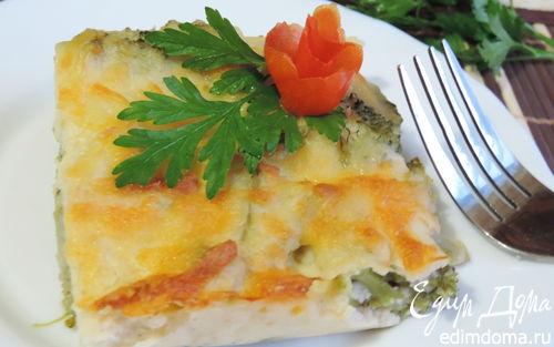 Рецепт Брокколи, запеченная под сырным соусом