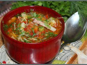 "Овощной суп почти ""Минестроне"""