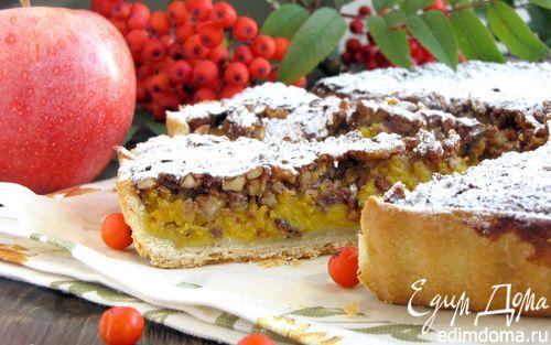 Рецепт Пряный пирог с тыквой и орехами
