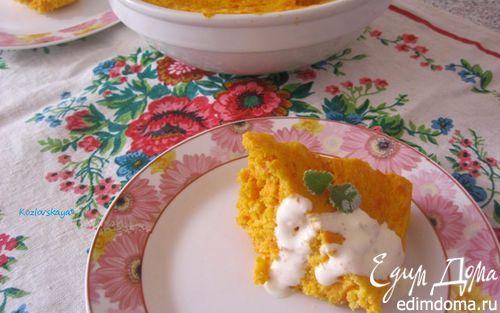 Рецепт Суфле из моркови и творога