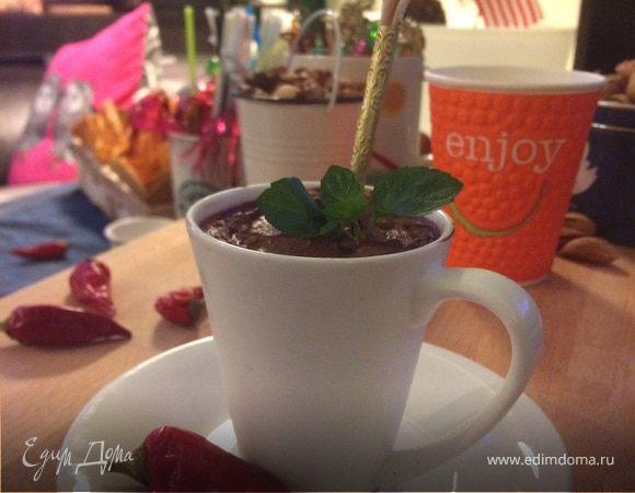 Ленивый шоколадный шот-эспрессо с чили (Corretto Amaretto)