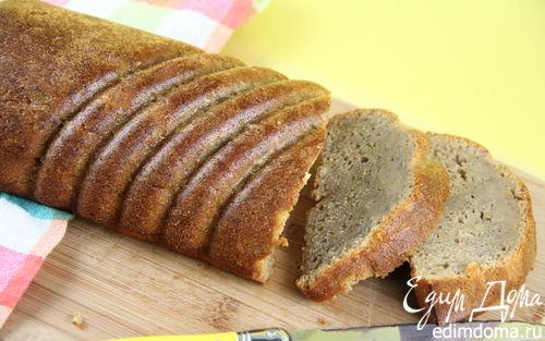 Рецепт Бананово-медовый кекс с цельнозерновой мукой