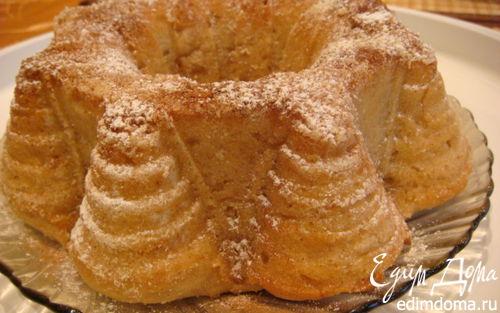 Рецепт Пирог без яиц с яблочным пюре