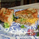 Бутерброд с брокколи и сыром