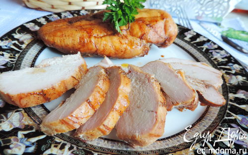 Рецепт Копченая куриная грудка в домашних условиях