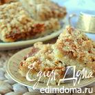 Песочный пирог со сметанной карамелью