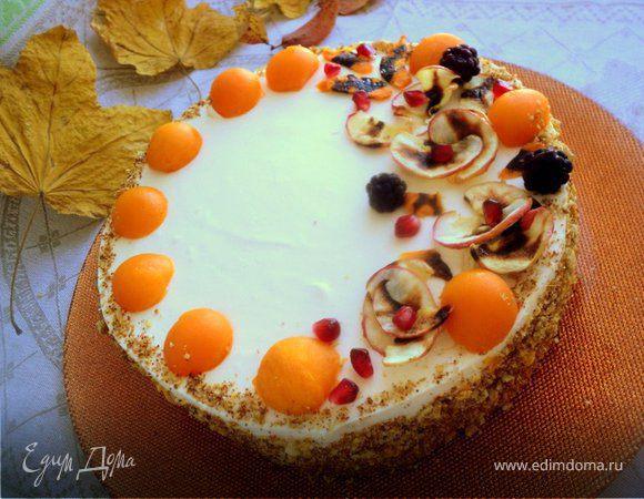 Торт «Осенний блюз»