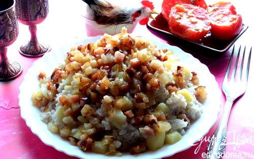 Рецепт Каша с картошкой по-латышски