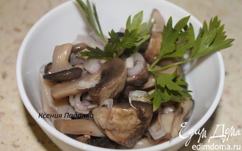 Рецепт Соленые грибочки