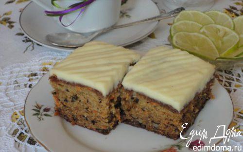 Рецепт Морковный пирог с грецкими орехами