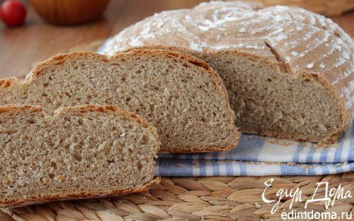 Рецепт Пшеничный хлеб на ржаной закваске