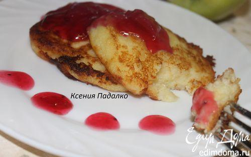 Рецепт Биточки из манки с киселем