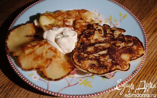Рецепт Яблочные блинчики из Виченцы