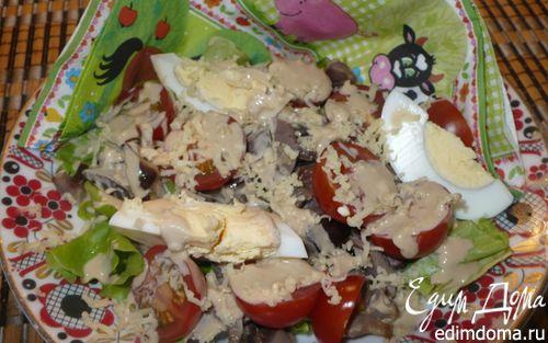 Рецепт Салат с куриными желудками