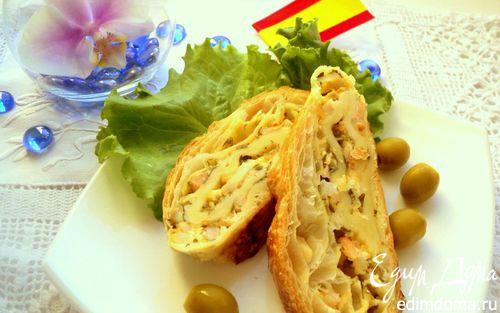 Рецепт Рулет с морепродуктами
